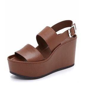 Vince Idalia Platform Wedge Sandals